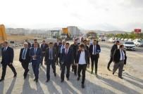 KAYAHAN - Belediye Başkanı Selahattin Gürkan, Altın Kayısı Bulvarında İncelemelerde Bulundu