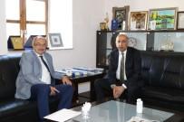 MEHMET MEHDİ EKER - Dışişleri Bakanlığı Diyarbakır Temsilcisinin İlk Resmi Ziyareti DTSO'ya