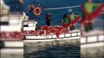 Ezineli Balıkçı Tek Seferde 1,5 Ton Kefal Avladı