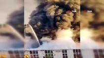 LYON - Fransa'da Korkutan Yangın