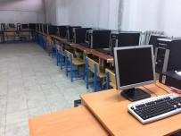 MUSTAFA AKIŞ - Beyşehir'de 4 Okula Yeni Nesil Bilgisayar Desteği