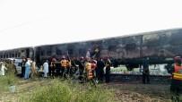 PENCAP - Pakistan'daki Tren Yangınında Kimlik Belirleme Çalışmaları Sürüyor