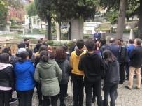 HÜLYA KAYA - Yahya Kemal Beyatlı Vefatının 61'İnci Yılında Mezarı Başında Anıldı