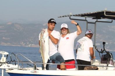 Alanya'da En Büyük Balığı Yakalamak İçin Yarıştılar