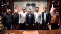 CELEP - Kırka Spor Kulübü'nden Ataç'a Ziyaret