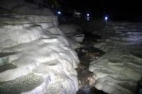 SARMAŞıK - (Özel) Yer Altındaki Gizli Pamukkale Açıklaması Kaklık Mağarası