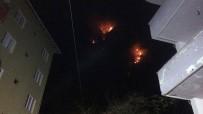 BARTIN VALİSİ - Bartın'daki Orman Yangınında 7 Ev Tahliye Edildi