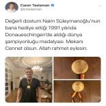 MİLLİ HALTERCİ - 'Cep Herkülü'Nün Kayıp Madalyalarından Biri Ortaya Çıktı