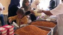 YETİM ÇOCUKLAR - Suriye Sınırında Kazanlar Yetimler İçin Kaynıyor