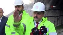 TANJU ÖZCAN - Tarım Ve Orman Bakan Yardımcısı Metin, Karadere Tüneli'nde İnceleme Yaptı
