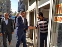 AK Parti Mardin İl Başkanı Kılıç'tan Mazıdağı Esnafına Ziyaret