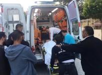 YARALI ÇOCUK - Misafirliğe Giden 12 Yaşındaki Çocuk 3. Kattan Düşüp Yaralandı