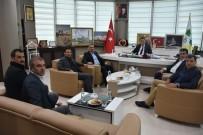 ESAT DELIHASAN - Karate Federasyonu Başkanı Delihasan'dan Başkan Beyoğlu'na Ziyaret