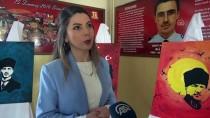 ALI ÖZTÜRK - Öğrencilerin Atatürk Sevgisi Tuvallere Yansıdı