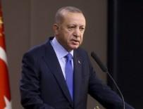 RAUF DENKTAŞ - Erdoğan, KKTC'nin 36. kuruluş yıl dönümünü kutladı