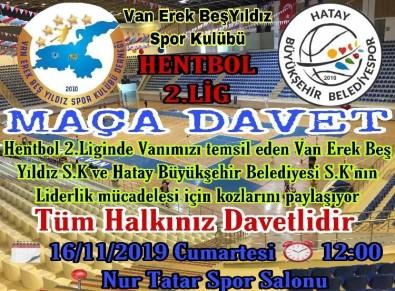 Van Erek Beş Yıldız SK Maçına Davet