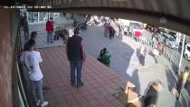 SELANIK - Karaköy'de Kaldırımda Yürüyen Bir Kadın, Yanından Geçen Başörtülü Kıza Saldırdı