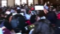 HARVARD ÜNIVERSITESI - Harvard'lı Öğrenciler İsrail'in BM Temsilcisi Danon'ı Protesto Etti