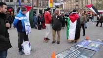 İSRAIL BAYRAĞı - Hollanda'da İsrail Protestosu