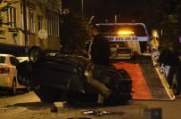 AZİZ SANCAR - Otomobil İle Polisten Kaçan 2 Kişi Cadde Üzerinde Bulunan 1 Jip, 5 Otomobile Çarptı