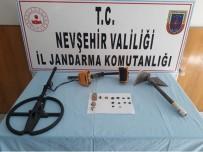 Kapadokya'da Define Avcısı Suçüstü Yakalandı