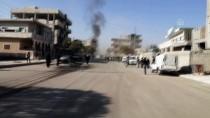 BOMBA DÜZENEĞİ - Cerablus'ta Bombalı Terör Saldırısı Açıklaması 1 Ölü, 4 Yaralı