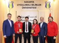 U21 - Şampiyon Karatecilere Rektör Sarıbıyık'tan Tebrik