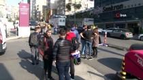 DOLAPDERE - Şişli'de Minibüsle Motosiklet Çarpıştı Açıklaması 1 Yaralı