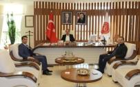 Avanos Kaymakamı Öner'den Rektör Bağlı'ya Ziyaret