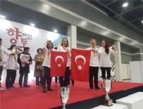 Altın madalya Türkiye'nin