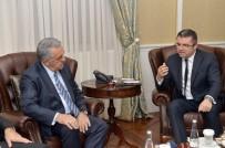 SEBAHATTİN ÖZTÜRK - AK Parti Genel Başkan Yardımcısı Yazıcı'dan Vali Memiş'e Ziyaret