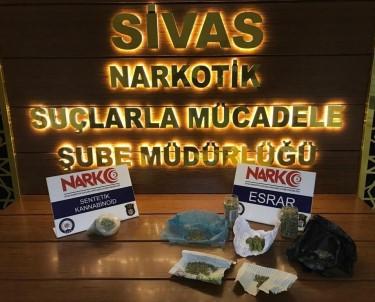 Sivas'ta Uyuşturucu Operasyonunda 1 Tutuklama