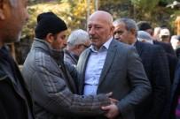 FARUK ÖZDEMIR - Bayburt'ta Evde Çıkan Yangında Hayatını Kaybeden 2 Kardeş İle Halaları Toprağa Verildi