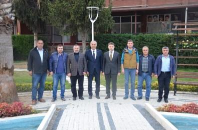Genel Müdür Poyraz, Başkan Yaman İle Bir Araya Geldi
