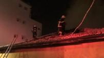 OĞLAN - Tek Katlı Evde Çıkan Yangında Mahsur Kalan Aile Kurtarıldı
