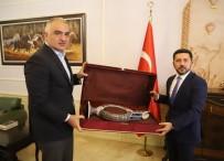 Kültür Ve Turizm Bakanı Ersoy, Nevşehir Belediyesini Ziyaret Etti