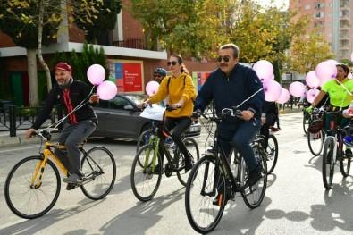 Başkan Çetin, Şiddete Karşı Pedal Çevirdi