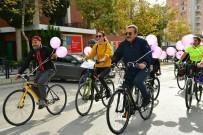 KENAN EVREN - Başkan Çetin, Şiddete Karşı Pedal Çevirdi