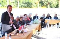 ATEŞ ÇEMBERİ - Başkan Seçer, Emekli Öğretmenler İle Bir Araya Geldi