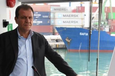 Başkan Seçer, Mersin Limanında İncelemelerde Bulundu