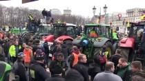 BRANDENBURG - Berlin Sokaklarında Traktörlü Çiftçi Protestosu