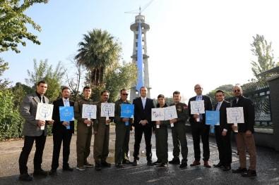 İzmir Paraşüt Kulesi, Prostat Kanseri İçin Mavi Kravat Taktı