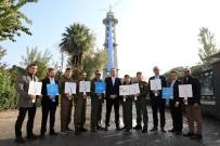 TÜRK HAVA KURUMU - İzmir Paraşüt Kulesi, Prostat Kanseri İçin Mavi Kravat Taktı