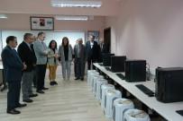 ERSIN EMIROĞLU - Silifke'de Okullara Bilgisayar Desteği