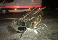 TUNÇBILEK - Tavşanlı'da Trafik Kazası Açıklaması 1 Yaralı