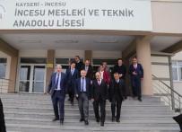 Vali Günaydın'dan Öğrencilere Kayserispor Maçına Götürme Sözü