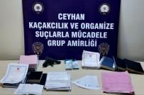 İCRA MÜDÜRLÜĞÜ - Adana'da Tefeci Ve Dolandırıcı Operasyonu Açıklaması 4 Gözaltı