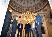 Bülent Turan, Lapseki'de Şehitler Camii'ni Ziyaret Etti