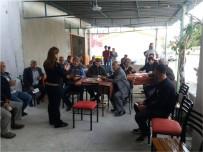 EROZYON - Çiftçi Eğitimleri Reisköy'de Devam Etti