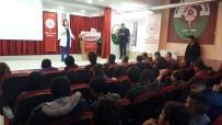 ALI ÖZDEMIR - Şuhut'ta Öğrencilere ''Sporcularda Sağlıklı Beslenme'' Konulu Seminer